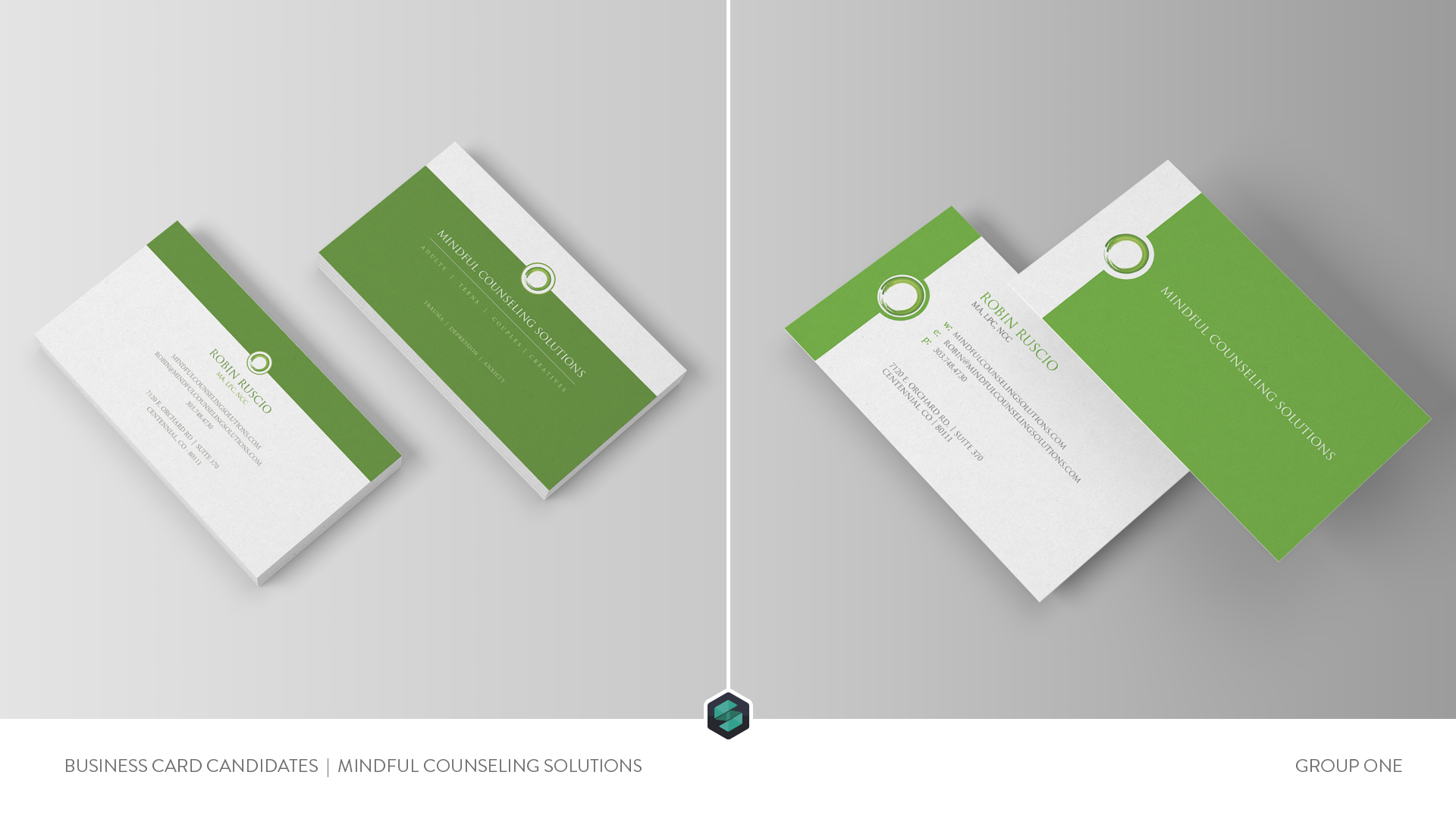 Business Card Design - Mindful Counseling Solutions | Denver, CO.